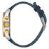 Nixon The Sentry Chrono Leather Watch - Gold/Blue Sunray: Image 2