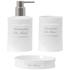Sorema De Bain Bathroom Accessories (Set of 3): Image 1
