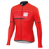 Sportful Gruppetto Thermal Long Sleeve Jersey - Red: Image 1