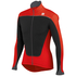 Sportful Force Thermal Long Sleeve Jersey - Black/Red: Image 1