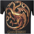 Game of Thrones Mens Targaryen Sigil T-Shirt - Zwart: Image 3