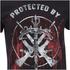 The Walking Dead Mens Grimes & Dixon T-Shirt - Zwart: Image 3