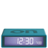Lexon Flip Clock - Teal: Image 1