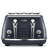 DeLonghi Elements Four Slice Toaster - Blue: Image 1