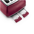 DeLonghi Elements Four Slice Toaster - Red: Image 3