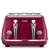 DeLonghi Elements Four Slice Toaster - Red: Image 1