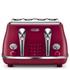 De'Longhi Elements Four Slice Toaster - Red: Image 1