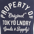 Tokyo Laundry Men's Rowe Creek Long Sleeve Top - Dress Blue: Image 3