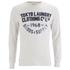 Tokyo Laundry Men's Point Hendrick Long Sleeve Top - Oatgrey Marl: Image 1