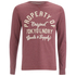Tokyo Laundry Men's Rowe Creek Long Sleeve Top - Bordeaux Marl: Image 1
