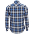 Tokyo Laundry Men's Carlsson Flannel Long Sleeve Shirt - True Blue: Image 2
