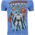 DC Comics Men's Justice League T-Shirt - Heather Royal: Image 5