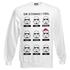 Star Wars Men's Stormtrooper Emotions Christmas Sweatshirt - White: Image 1