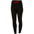 Castelli Women's Chic Tights - Black/Red: Image 1