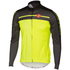 Castelli Velocissimo Long Sleeve Jersey - Yellow Fluro/Black: Image 1