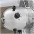 Pifco P40001 12 Inch Chrome Desk Fan: Image 2