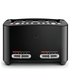 Sage by Heston Blumenthal BTA840BSUK Smart Toaster 4 Slice - Black: Image 1