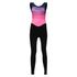 Santini Women's Coral Bib Tights - Pink: Image 3