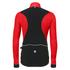Santini Polar Windstopper Winter Jacket - Red: Image 3