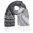 Superdry Women's Kaya Blanket Scarf - Grey: Image 1