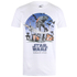 Star Wars Rogue One Men's Fight Scene T-Shirt - White: Image 1