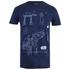 Star Wars: Rogue One Mens AT-AT Schematic T-Shirt - Navy: Image 1