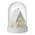 Parlane Winter House LED Glass Dome - White (30 x 29cm): Image 1