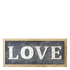 Parlane 'Love' LED Sign - Grey/White (20 x 43cm): Image 1