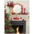 Parlane Glass Crackle Ball Lights - Red (Set of 3): Image 2