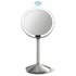 simplehuman Rechargeable Stainless Steel Sensor Mirror with Travel Case - 10x Magnification 12cm: Image 4