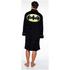 DC Comics Men's Batman Fleece Robe - Black: Image 2