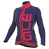 Alé Women's PRR Arcobaleno Winter Jacket - Blue/Red: Image 1