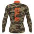 Alé PRR Dolomiti Long Sleeve Camo Jersey - Black/Orange: Image 2