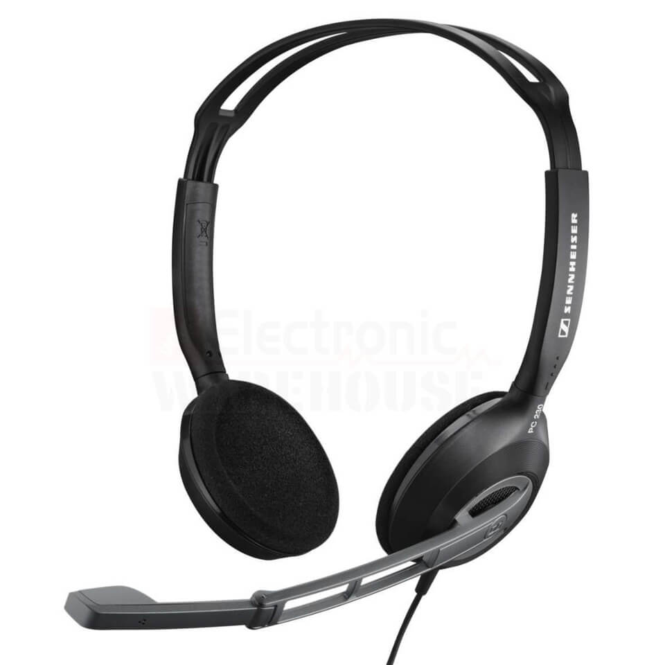 sennheiser-pc-230-on-ear-gaming-headset-with-noise-cancelling-mic-black