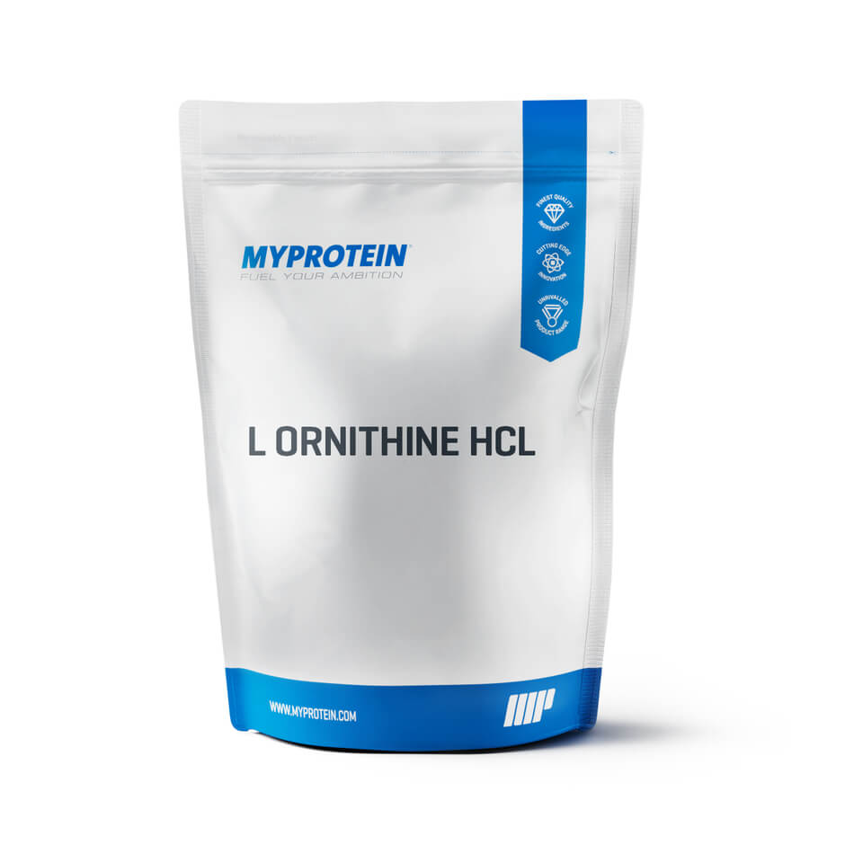 L Ornitina HCL, Sin sabor, Bolsa, 250 g