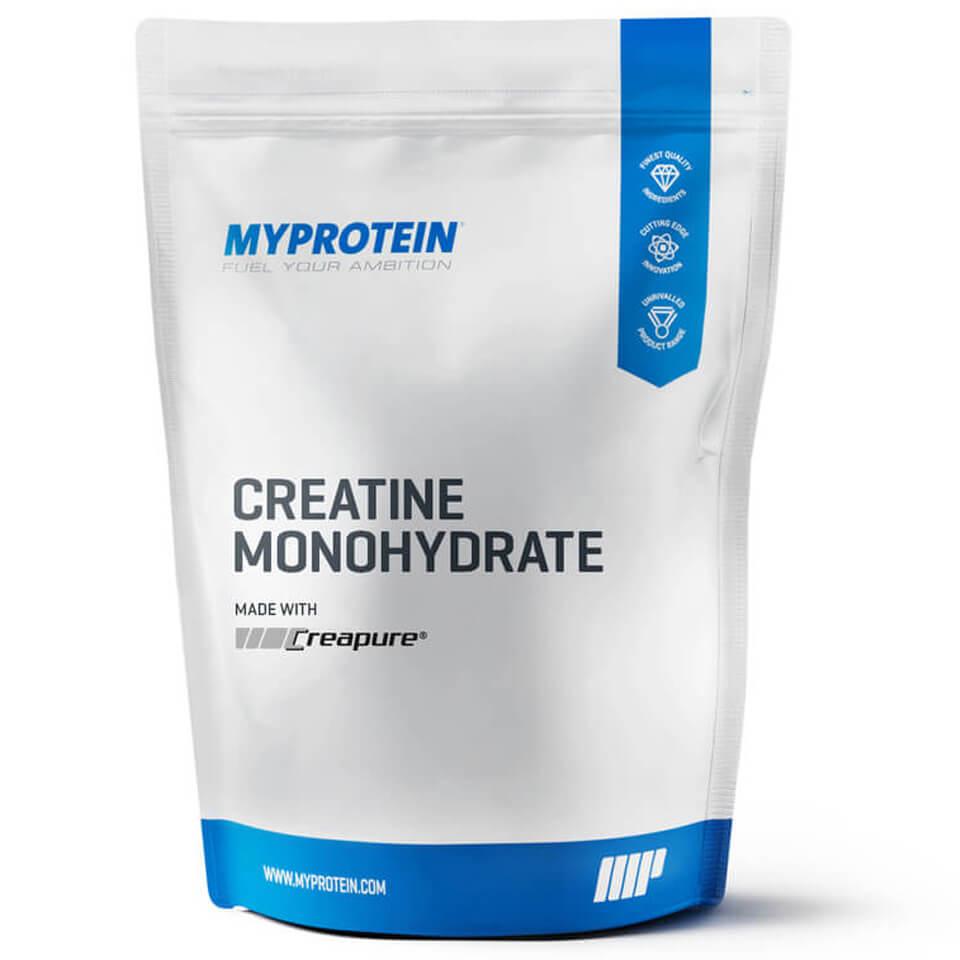 Foto Creatine Monohydrate (Creapure), Sour Raspberry, 500g Myprotein