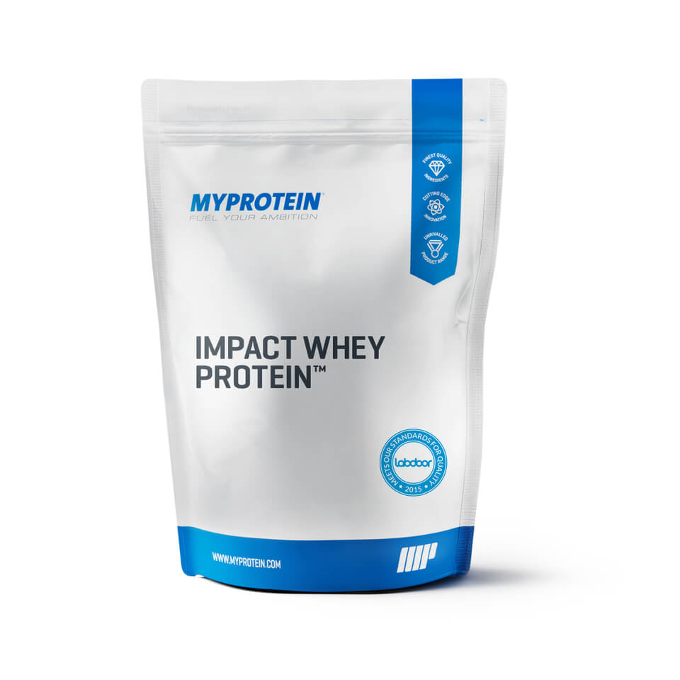 Foto Impact Whey Protein, Natural Strawberry, 5kg Myprotein