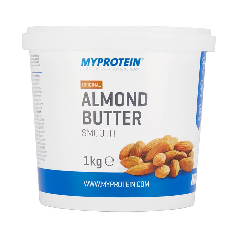 Foto Almond Butter Crunchy - Tub - 1kg Myprotein