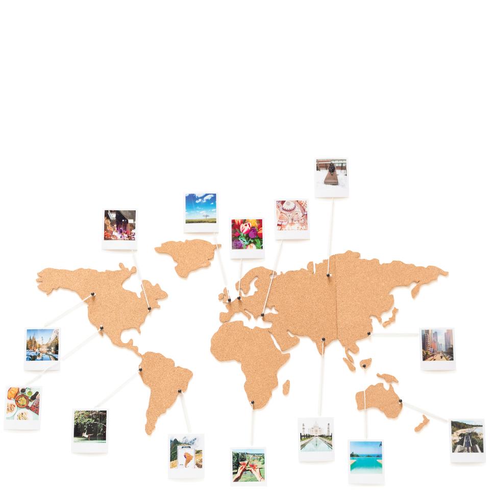cork-board-world-travel-map