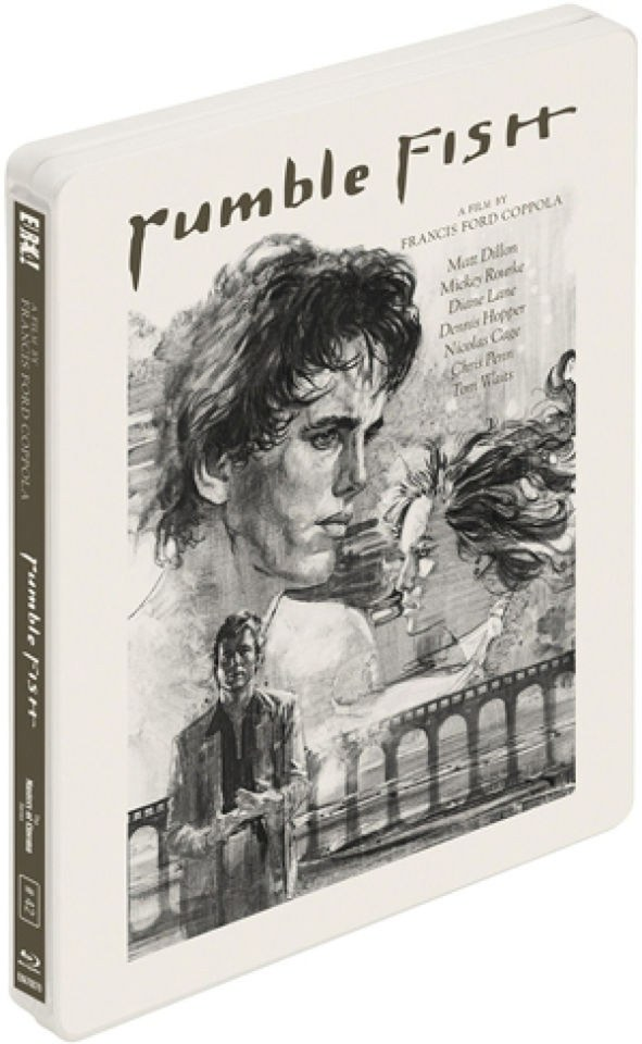 Rumble fish steelbook edition blu ray for Rumble fish book