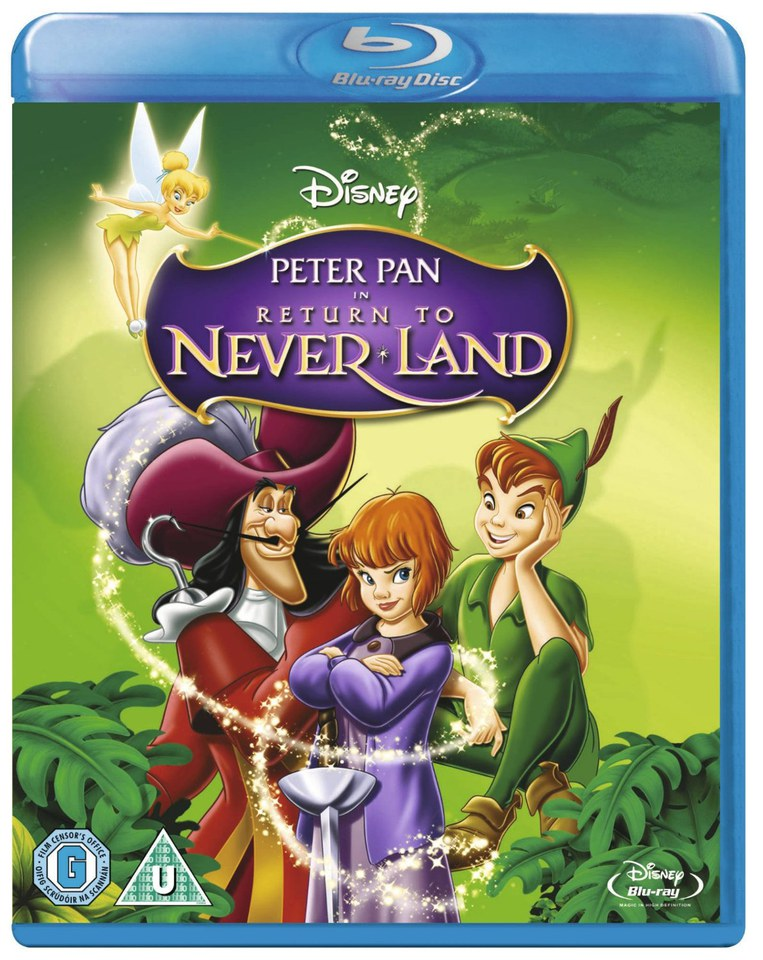 peter pan 2 return to neverland blu ray. Black Bedroom Furniture Sets. Home Design Ideas