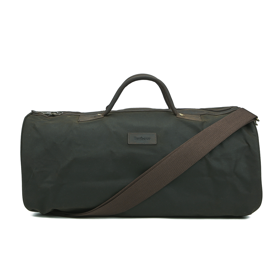 barbour-men-wax-holdall-olive