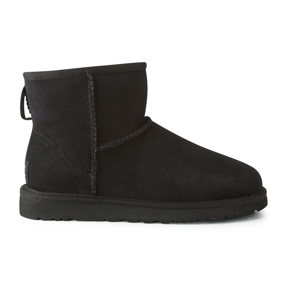 ugg-women-classic-mini-sheepskin-boots-black-35