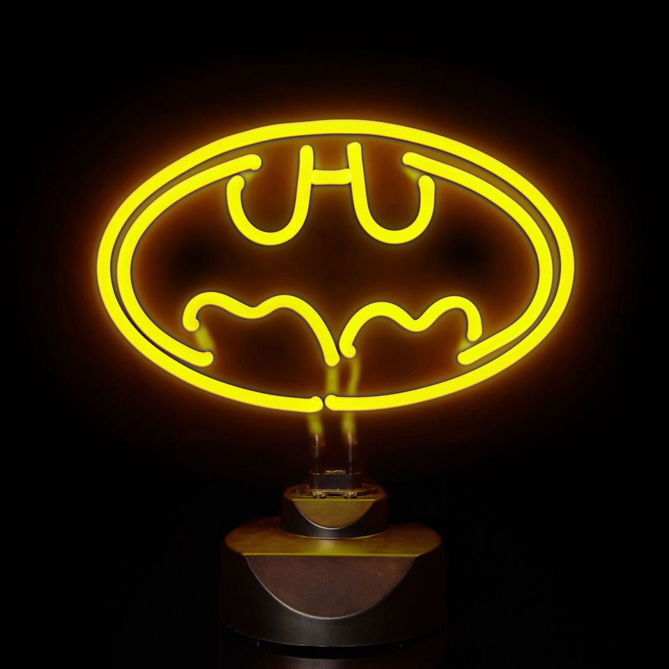 DC Comics Batman 30cm Wide Neon Light Gifts TheHutcom