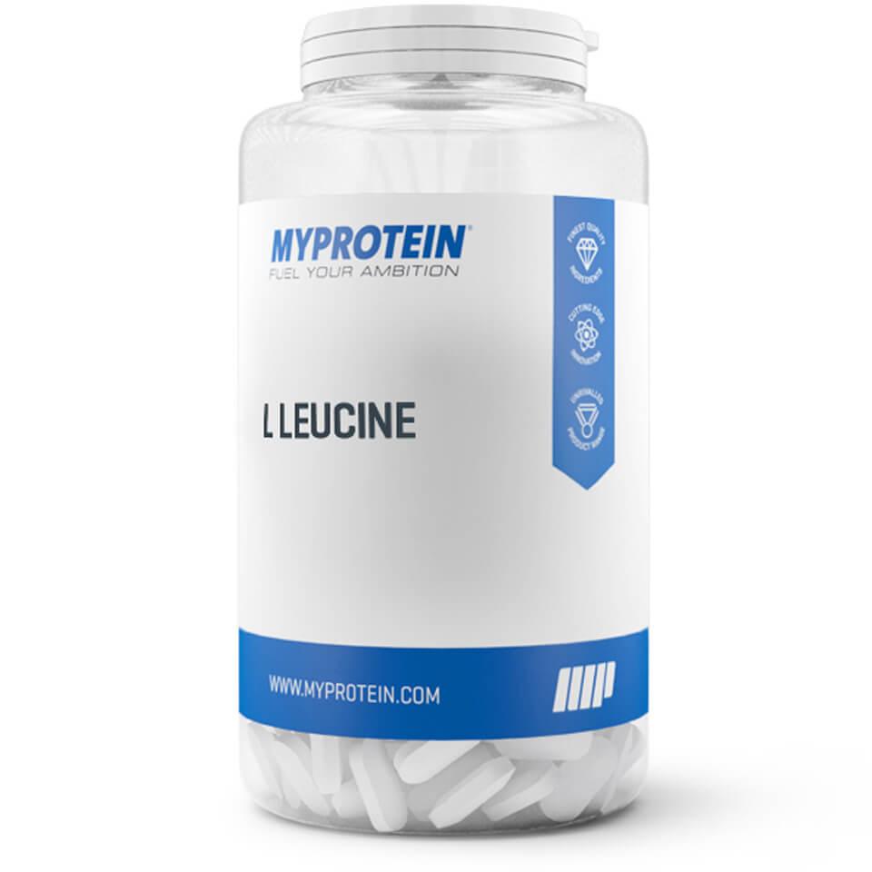 Foto L-Leucine 1000mg, 120 tablets Myprotein