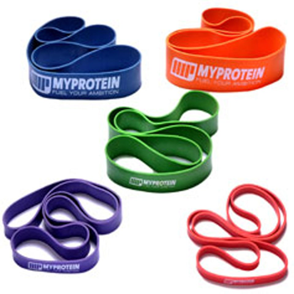 Image of Myprotein Resistance Bands - 24-79lb (Pair) - Multi