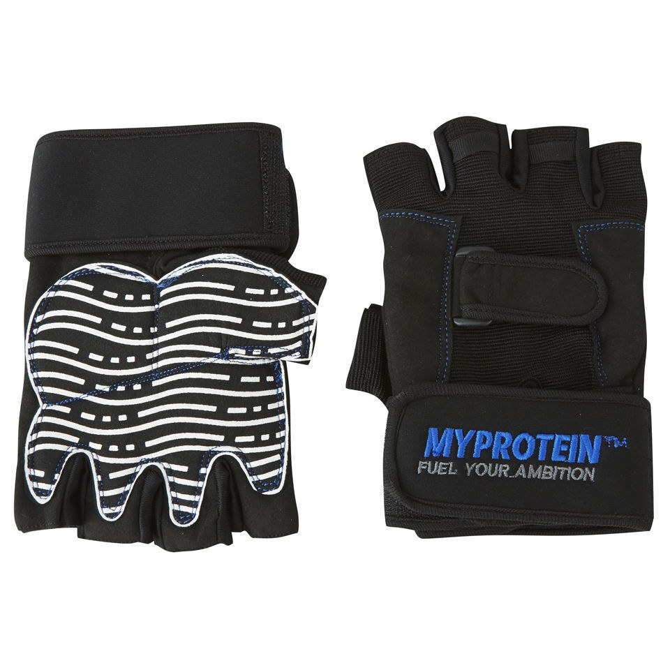 Image of Myprotein Pro Training Lifting Gloves - L - Black