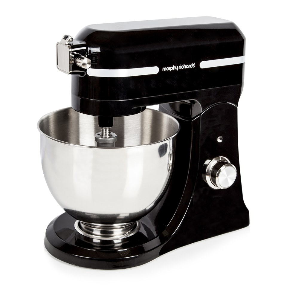 morphy-richards-400008-professional-diecast-stand-mixer-with-guard-black