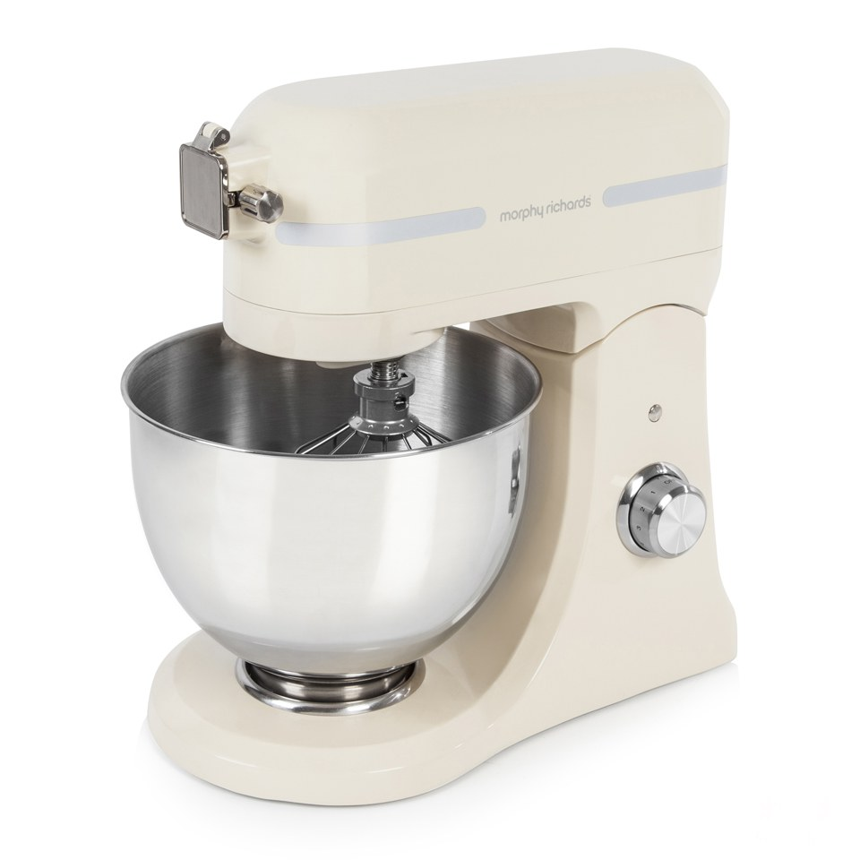 morphy-richards-400009-professional-diecast-stand-mixer-with-guard-cream