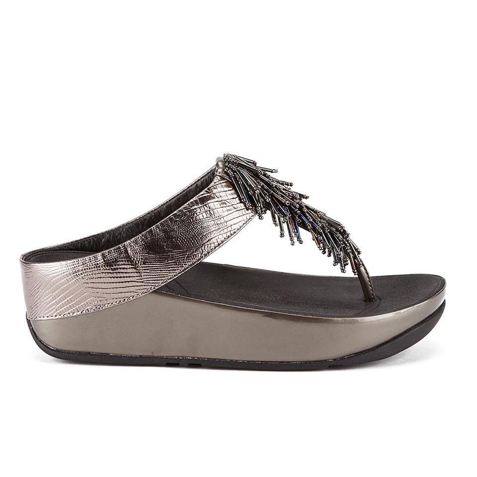 fitflop-women-cha-cha-leathersuede-tassel-toe-post-sandals-nimbus-silver-4